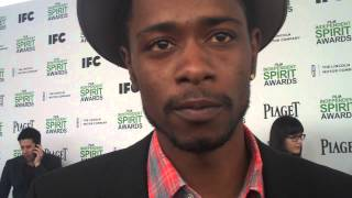 "Keith Stanfield of ""Short Term 12"" at Indie Spirits"