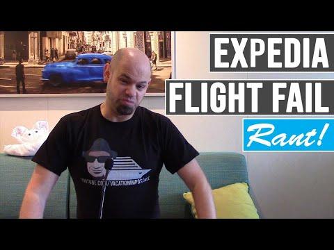 EXPEDIA FLIGHT FAIL CUSTOMER SERVICE REVIEW