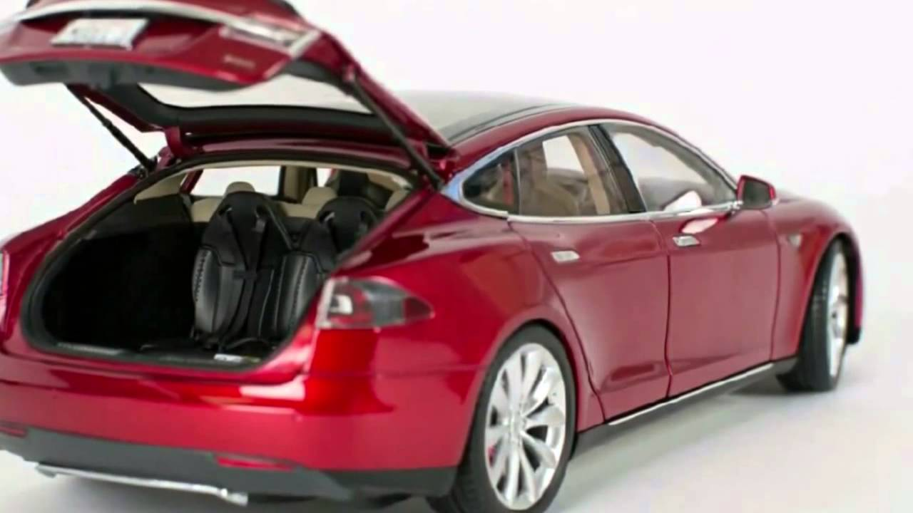 Tesla 1 >> 1 18 Tesla Model S Youtube