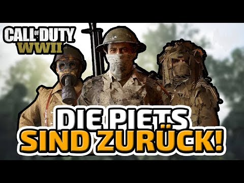 Die Piets sind zurück! - ♠ Call of Duty: WWII Multiplayer ♠ - Deutsch German - Dhalucard