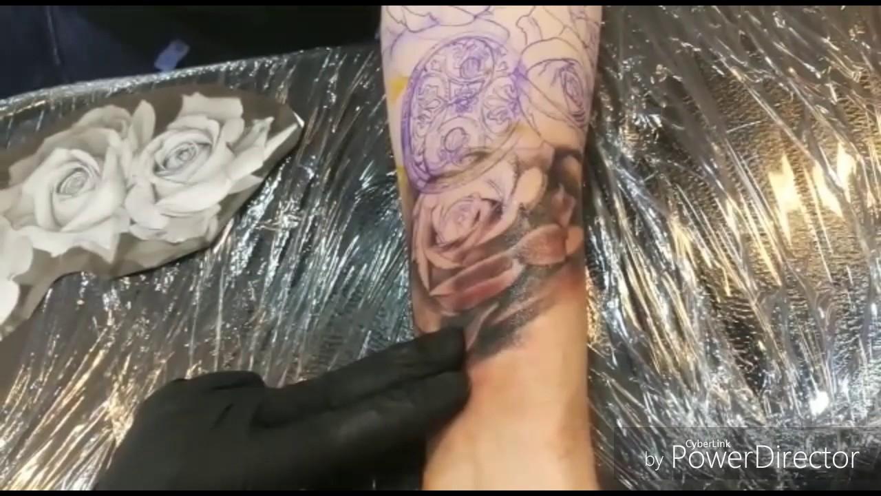 By Chris Nadelundfarbe Tattoo Kunstwerk Facebook