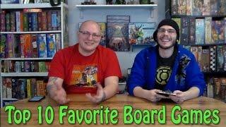 Top Ten Favorite Board Games - w/ Game Vine