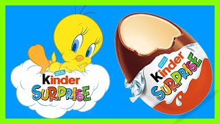💚TWEETY BIRD LOONEY TUNES 💚KINDER MAXI SURPRISE 💚UNBOXING💚
