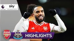 Gunners überrollen Newcastle | Arsenal - Newcastle 4:0 | Highlights - Premier League 2019/20