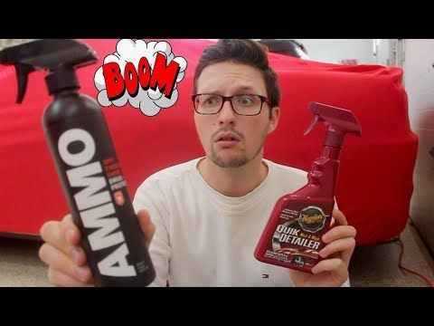 Detailing Confession: AMMO Spit Shine Review!!
