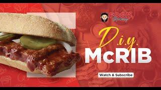 Make Your Own McRib Sandwich  Fast Food DIY