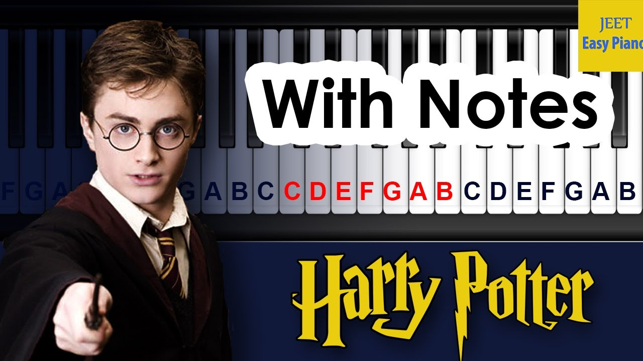 Easy Piano songs for beginners slow Harry Potter
