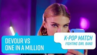 Fighting Girl Band: Devour vs One in a million | Capítulo 1 | K-Pop ...