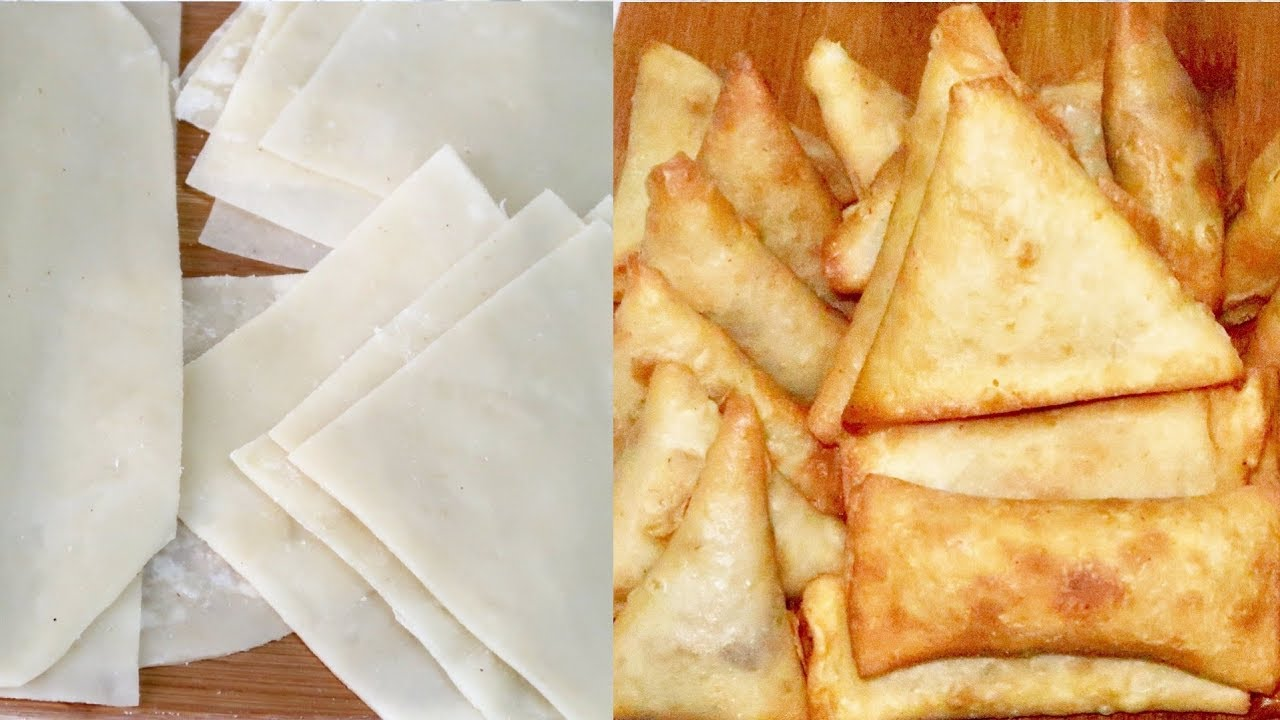 Download How To Make Samosa and SpringRoll || Simple Homemade Recipe | Patricia Ibe