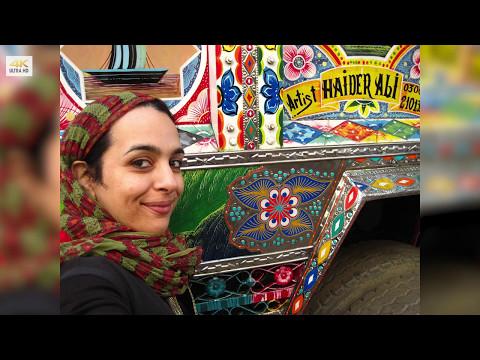Master of TRUCK ART  Haider Ali    Phool Patti   Karachi  Pakistan