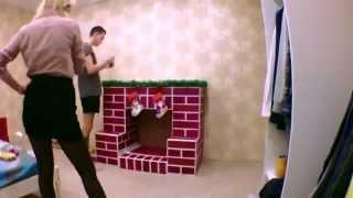 КАМИН СВОИМИ РУКАМИ(Кто-то ставит Ёлку на Новый Год, а мы поставили камин) На видео показано, как это сделать в домашних условиях..., 2014-12-18T01:03:14.000Z)