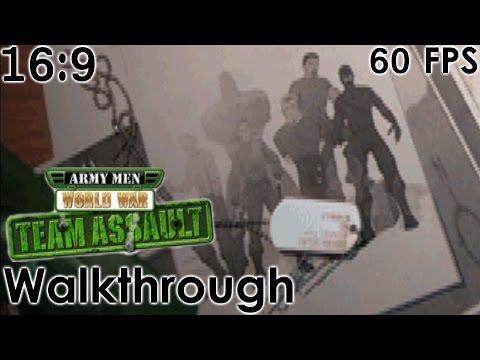Army Men: World War - Team Assault Widescreen Walkthrough