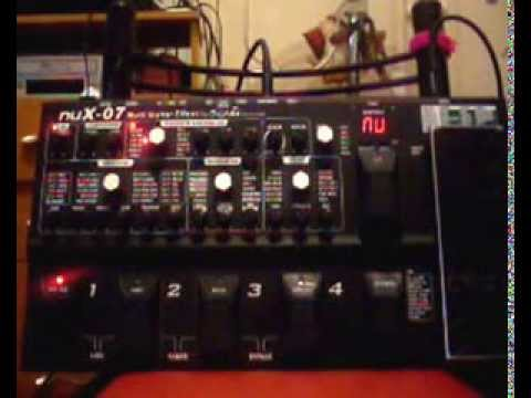 Nux-07 инструкция - фото 7