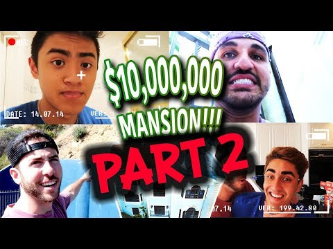 EPIC HIDE AND SEEK PART 2 IN MEGA MANSION FT IRELAND BOYS PRODUCTIONS & ROHANTV