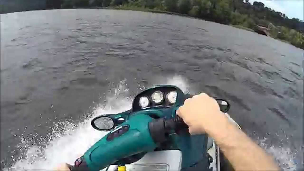 Seadoo GTX Carbed and GTX RFI Fuel Injected - Jetskiing Pittsburgh (Pt 1)