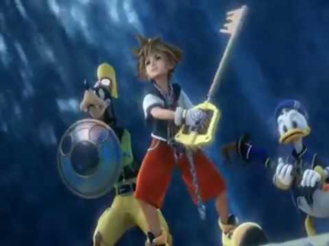Kingdom Hearts II Opening - Sanctuary (With Unreversed Lyrics)
