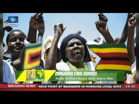 Public Workers Reject Govt. Salary Offer In Zimbabwe |Network Africa|