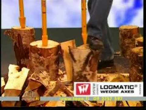 Wonderlijk Logmatic houtklovers - YouTube HR-44
