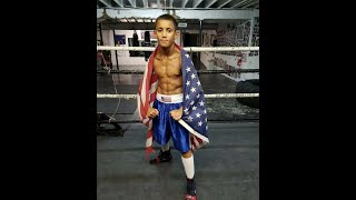 11 year old | Lil Mario The Underdog | Boxing Prodigy