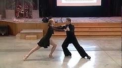 Springfield Dance Studio - Anja Walter & Earnest Travis dancing Silver Argentine Tango