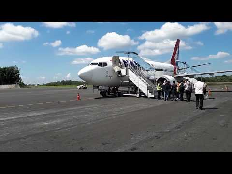 NAM AIR IN 015 Lubuk Linggau - Jakarta, taxing without pushback //Flight Review//