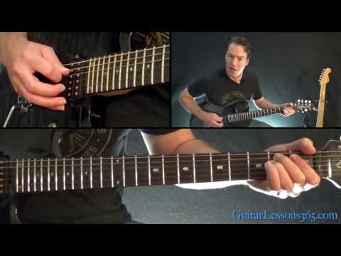 Black Sabbath  Children of the Grave Guitar Lesson Rhythms