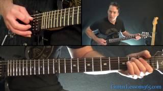 Children of the Grave Guitar Lesson (Rhythms) - Black Sabbath