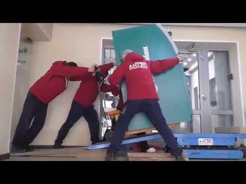 АНТЭК - Перевозка банкомата для Запсибкомбанка (Тюмень, ноябрь 2015 года)