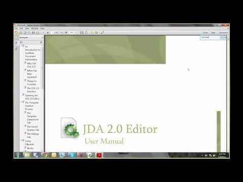 JDA 2.0 Basics