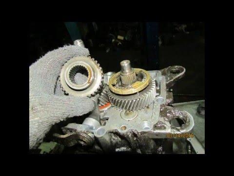 Мерседес 124 замена 3ей передачи. Mercedes-Benz W124  ремонт кпп
