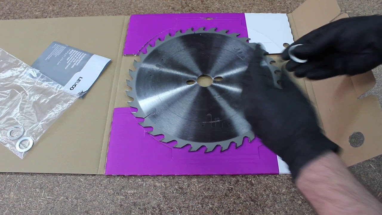 Leuco table saw blades unboxing and installing reducer bushing leuco table saw blades unboxing and installing reducer bushing greentooth Images