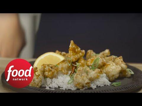 Crispy general tsos cauliflower food network youtube forumfinder Choice Image