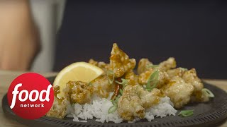 Crispy General Tso's Cauliflower | Food Network