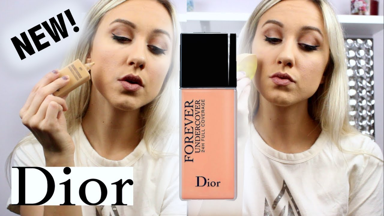 NEW! DIOR FOREVER UNDERCOVER FOUNDATION REVIEW - YouTube