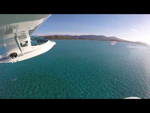 AIR PARADISE Amerrissage sur le Lagon de Poé -  New Caledonia
