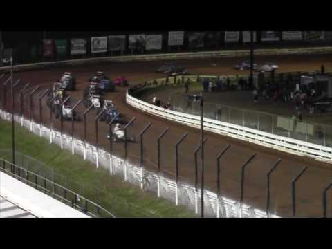 Williams Grove Speedway USAC Silver Crown and ARDC Midget Highlights 06-10-16