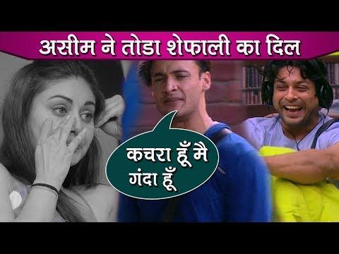 Bigg Boss 13 Review: Asim Plays Against Shefali Zariwala, Shefali Compares Him With Siddharth