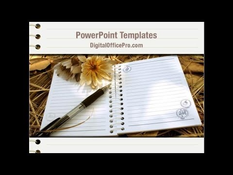 Diary powerpoint templates diary powerpoint backgrounds.