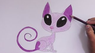 Como dibujar y pintar a Don Gato (Kid vs Kat) - How to draw and paint at Don Gato