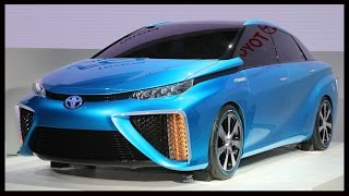 vuclip 2015 Toyota FCV - The Rise Of Hydrogen Fuel Cell Cars Begins