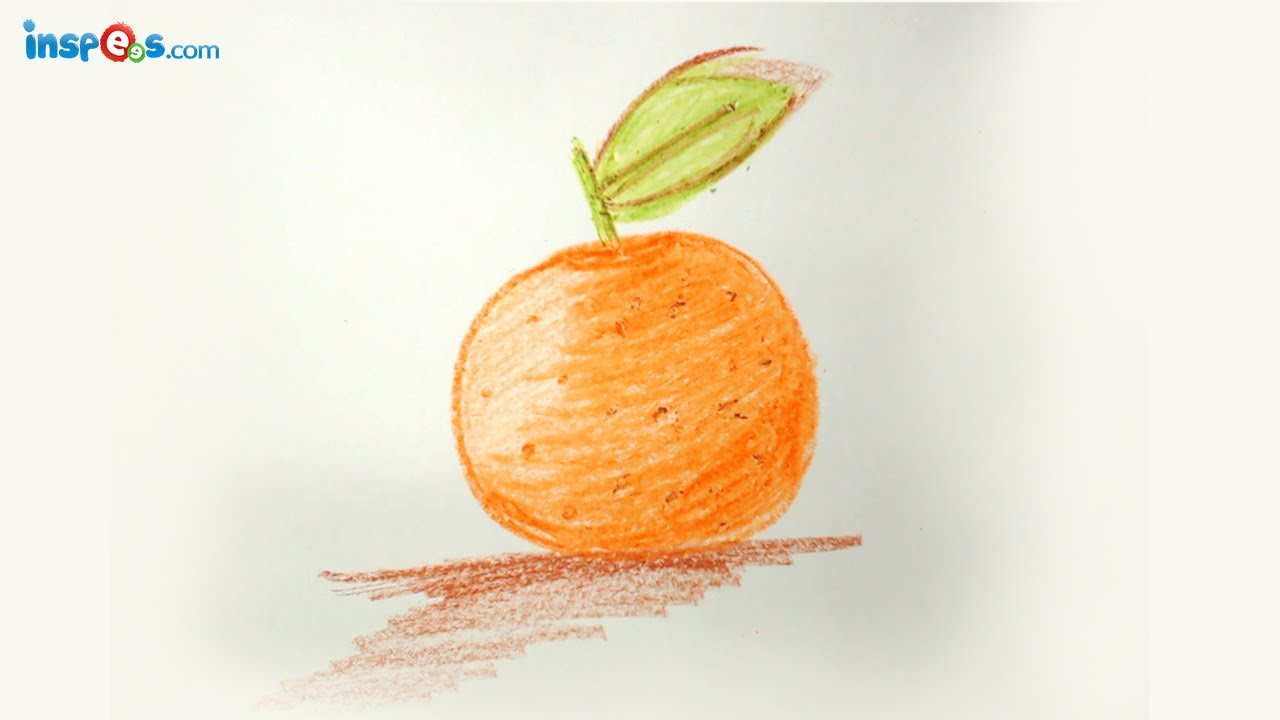 How to Draw Orange - YouTube