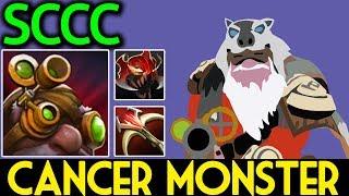 SCCC Dota 2 [Sniper] Cancer Monster | Damage is Insane!!