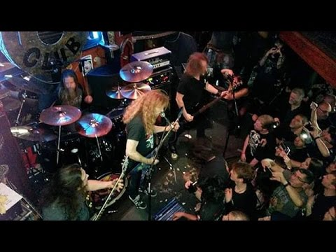 Megadeth - Fatal Illusion - Live at 12 Bar Club, London 2015.