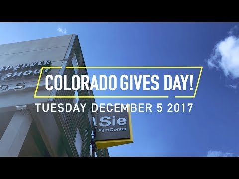 Colorado Gives Day With Denver Film Society