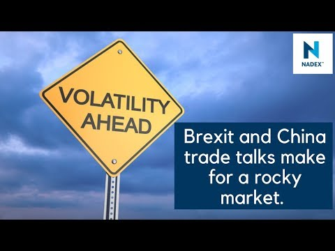 Brexit and China trade talks make for a rocky market.