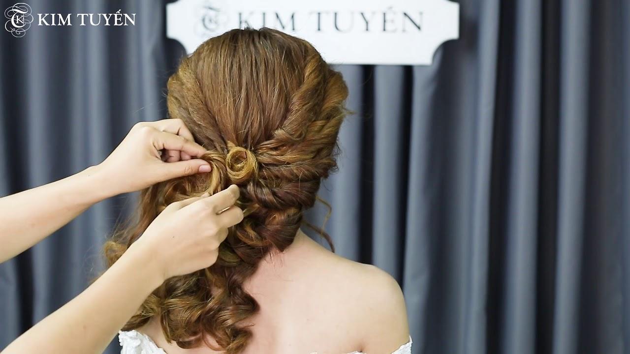 [Học viện Kim Tuyến] Hướng dẫn tạo kiểu tóc cô dâu