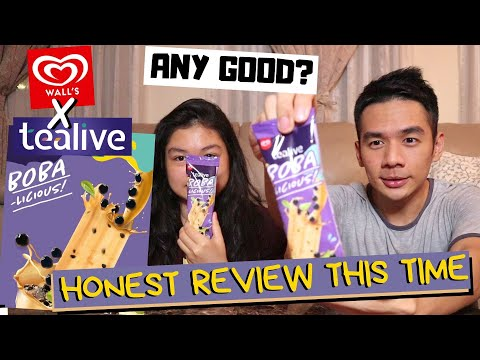 GOOD MEH THIS TEALIVE BOBALICIOUS ICE CREAM? | Don't put expectations too high lor...