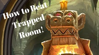 How to Beat Trapped Room! Hunter Style! [Dungeon Run]