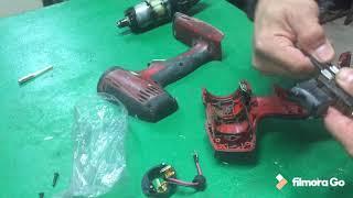 Cambio de escobillas atornillador HILTI SFC 22A