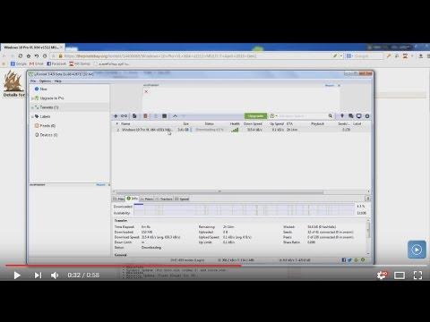 Windows 10 PRO Free Download 32bit & 64bit ISO File ORIGINAL (Torrent file)